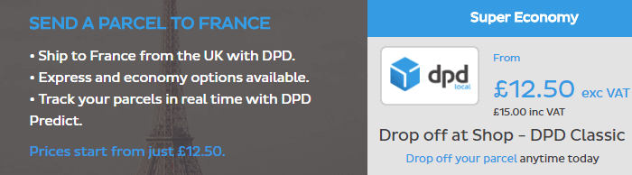DPD Local: France
