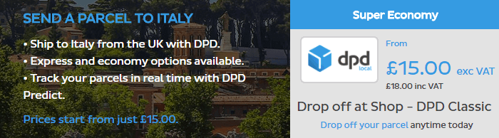 DPD Local Italy
