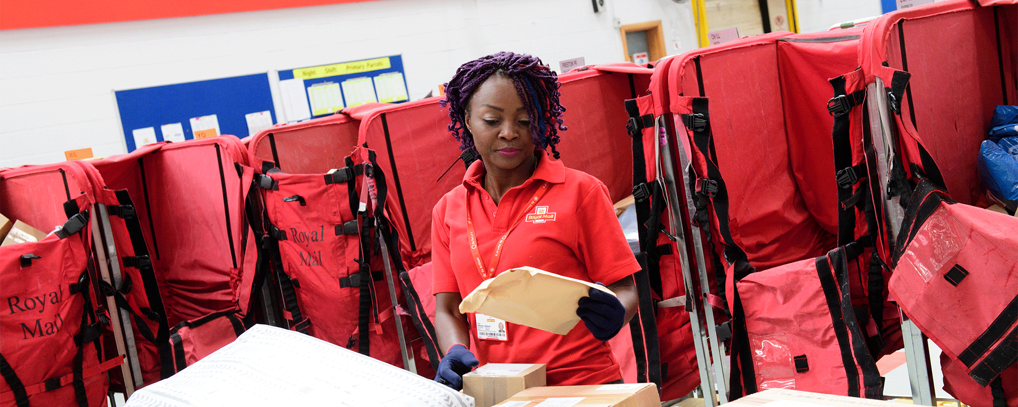 Royal Mail's Employee