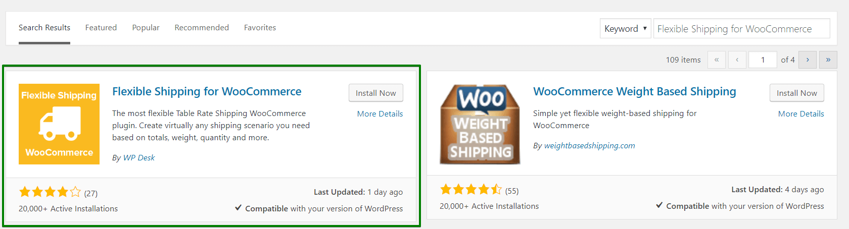 Flexible Shipping plugin download