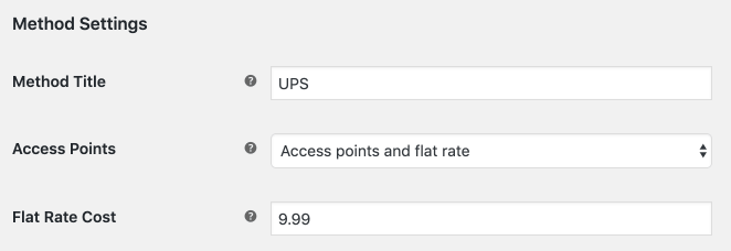 UPS PRO Access points and flat rate