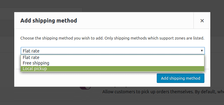 There's no 'shipping calculator' option
