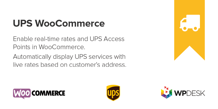 UPS WooCommerce Live Rates and Access Points