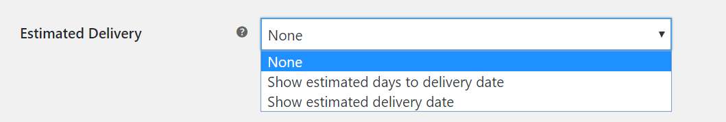 FedEx WooCommerce estimated delivery