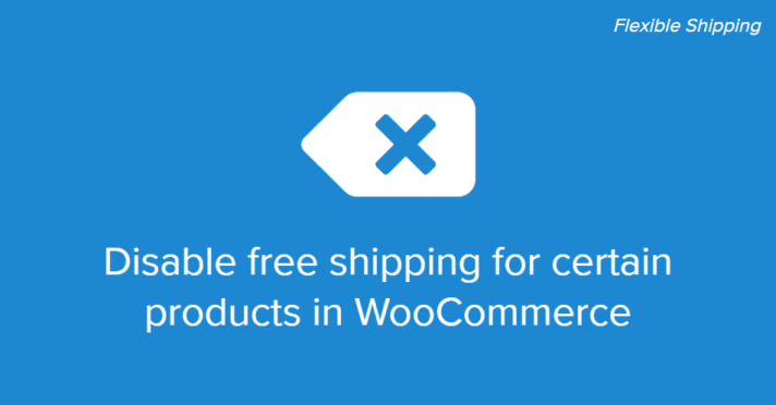 Disable free shipping for certain products in WooCommerce