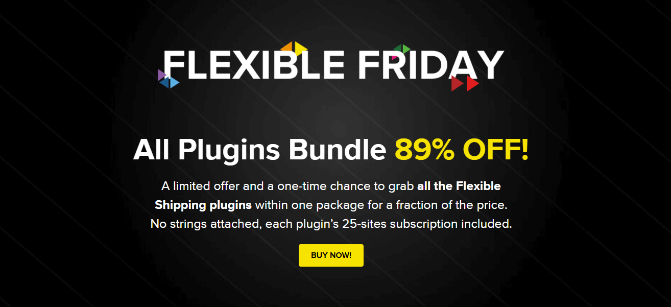 Flexible Friday 2020 deal - banner