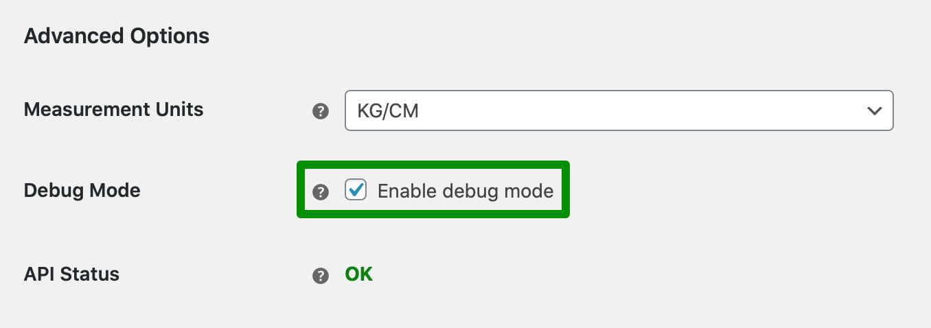 UPS Live Rates plugin - Enabling Debug Mode